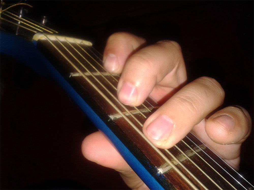 Приведенная схема аккорда в